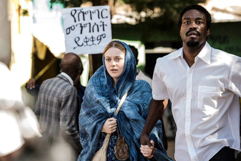 Sweetness in the Belly starring Dakota Fanning and Yahya Abdul Mateen. World Sales Hanway Films (Photo by Chris Katsarov)