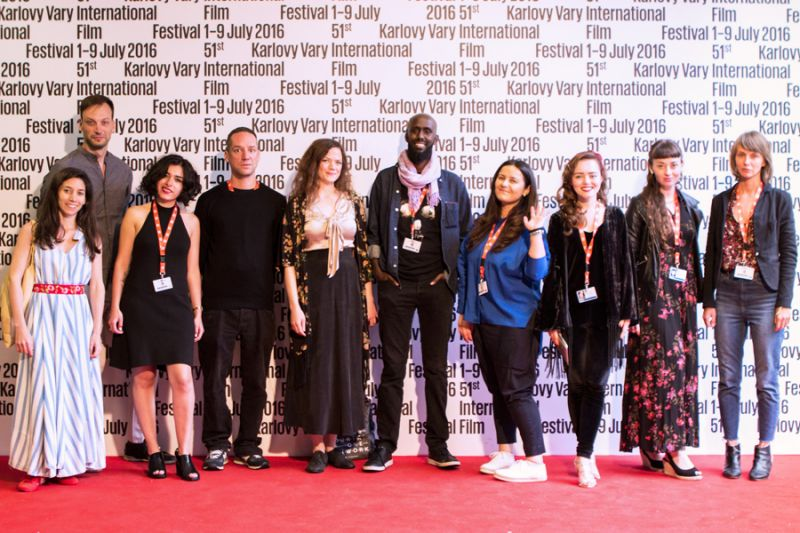 Future Frames 2016 participants from left to right: Maria Luz Olivares Capelle, Tonći Gaćina, Karen Vázquez Guadarrama, Clemens Pichler, Rebecca Figenschau, Ahmed Abdullahi, Mariam Kakabadze, Roxana Stroe, Julia Furer, Klara Kochańska