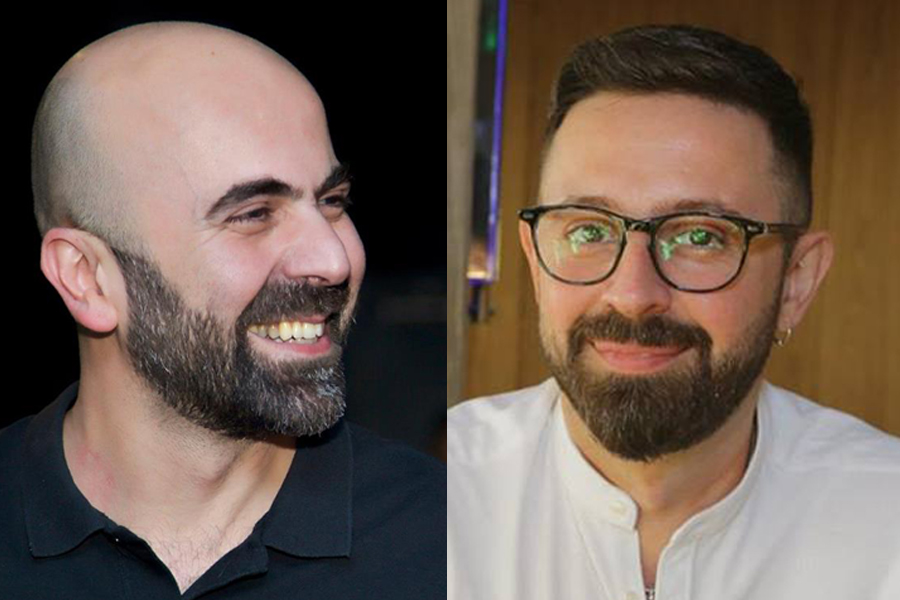 ACC's co-founders Alaa Karkouti (left), Maher Diab (right)